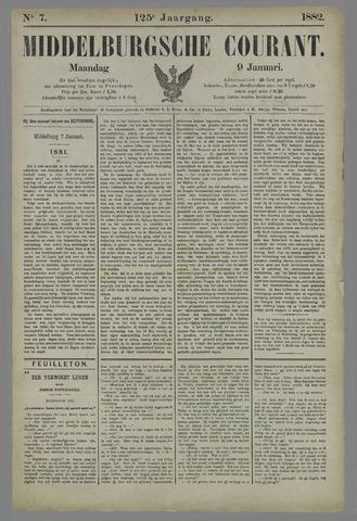 Middelburgsche Courant 1882-01-09