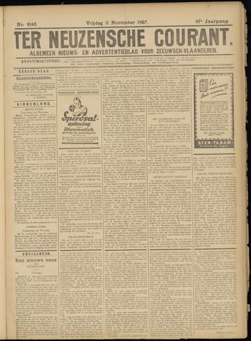 Ter Neuzensche Courant. Algemeen Nieuws- en Advertentieblad voor Zeeuwsch-Vlaanderen / Neuzensche Courant ... (idem) / (Algemeen) nieuws en advertentieblad voor Zeeuwsch-Vlaanderen 1927-11-11