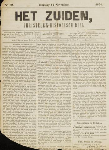 Het Zuiden, Christelijk-historisch blad 1876-11-14