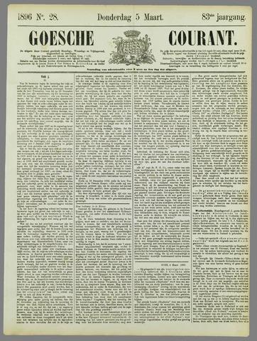 Goessche Courant 1896-03-05