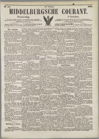 Middelburgsche Courant 1899-10-05