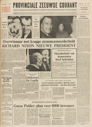 Provinciale Zeeuwse Courant 1968-11-07