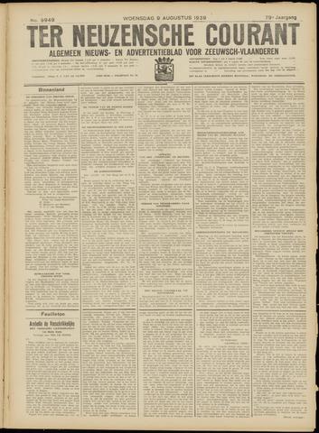 Ter Neuzensche Courant. Algemeen Nieuws- en Advertentieblad voor Zeeuwsch-Vlaanderen / Neuzensche Courant ... (idem) / (Algemeen) nieuws en advertentieblad voor Zeeuwsch-Vlaanderen 1939-08-09