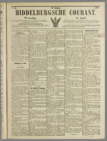 Middelburgsche Courant 1906-04-11