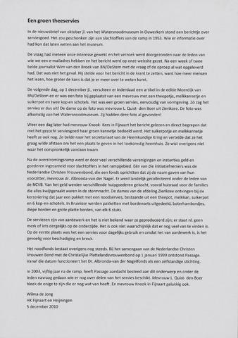 Watersnood documentatie 1953 - diversen 2010-12-05