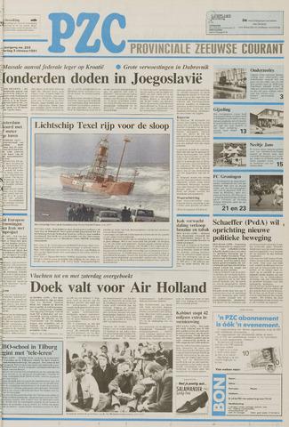 Provinciale Zeeuwse Courant 1991-10-03