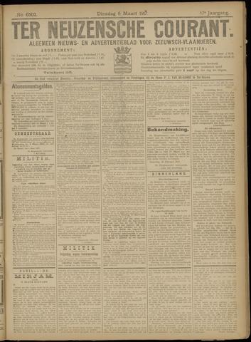 Ter Neuzensche Courant. Algemeen Nieuws- en Advertentieblad voor Zeeuwsch-Vlaanderen / Neuzensche Courant ... (idem) / (Algemeen) nieuws en advertentieblad voor Zeeuwsch-Vlaanderen 1917-03-06