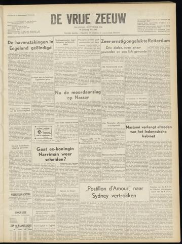 de Vrije Zeeuw 1954-11-01