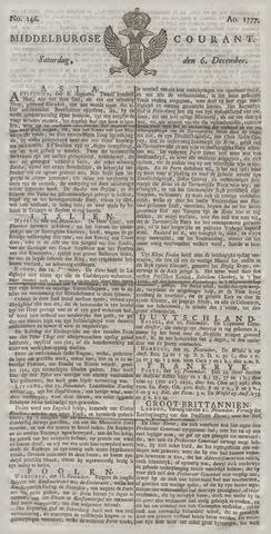 Middelburgsche Courant 1777-12-06