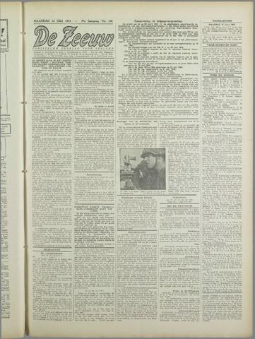 De Zeeuw. Christelijk-historisch nieuwsblad voor Zeeland 1943-07-12
