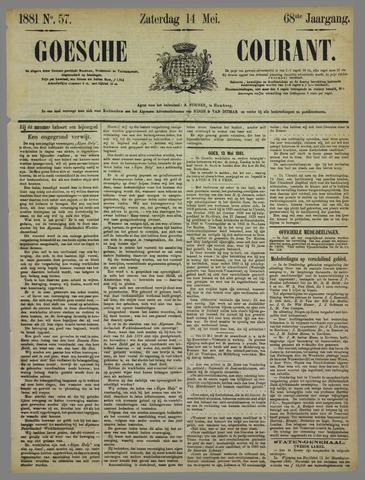 Goessche Courant 1881-05-14