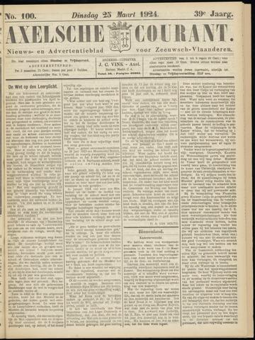 Axelsche Courant 1924-03-25