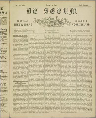 De Zeeuw. Christelijk-historisch nieuwsblad voor Zeeland 1896-07-18