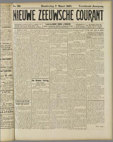 Nieuwe Zeeuwsche Courant 1918-03-07