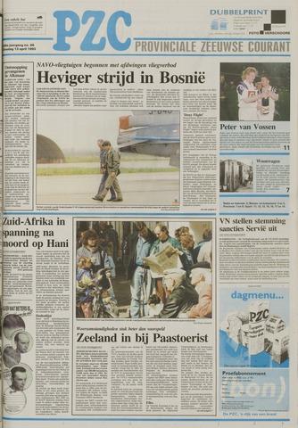 Provinciale Zeeuwse Courant 1993-04-13