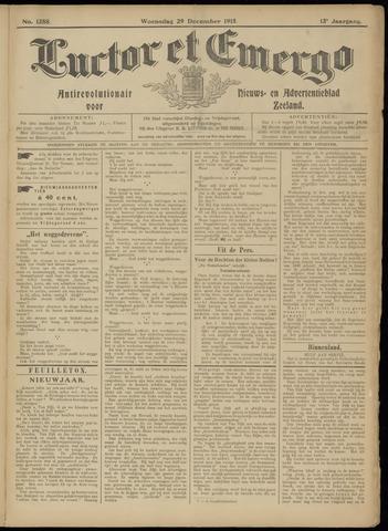 Luctor et Emergo. Antirevolutionair nieuws- en advertentieblad voor Zeeland / Zeeuwsch-Vlaanderen. Orgaan ter verspreiding van de christelijke beginselen in Zeeuwsch-Vlaanderen 1915-12-29