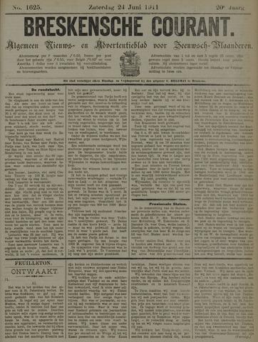 Breskensche Courant 1911-06-24