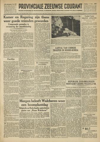 Provinciale Zeeuwse Courant 1950-11-03