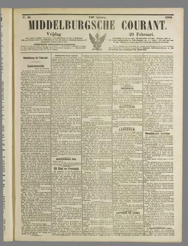 Middelburgsche Courant 1906-02-23