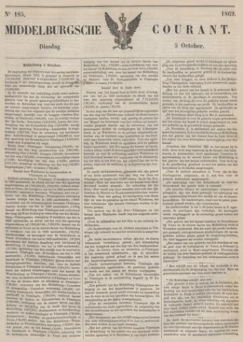 Middelburgsche Courant 1869-10-05