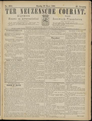 Ter Neuzensche Courant. Algemeen Nieuws- en Advertentieblad voor Zeeuwsch-Vlaanderen / Neuzensche Courant ... (idem) / (Algemeen) nieuws en advertentieblad voor Zeeuwsch-Vlaanderen 1901-03-26