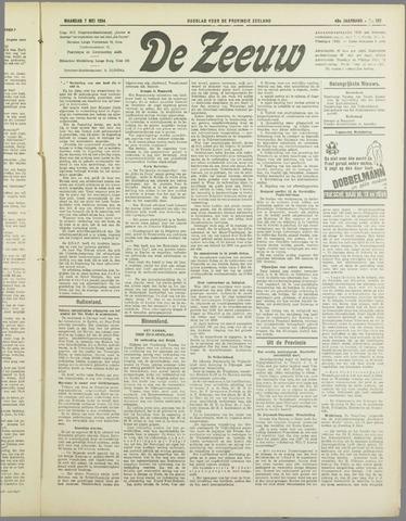 De Zeeuw. Christelijk-historisch nieuwsblad voor Zeeland 1934-05-07