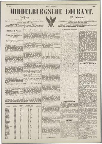 Middelburgsche Courant 1901-02-22