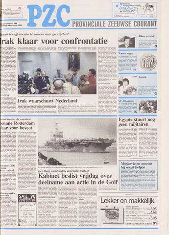 Provinciale Zeeuwse Courant 1990-08-09