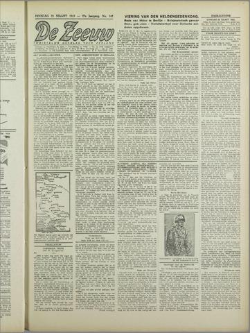 De Zeeuw. Christelijk-historisch nieuwsblad voor Zeeland 1943-03-23