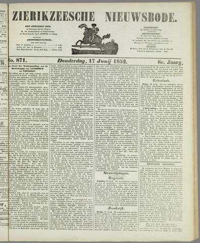 Zierikzeesche Nieuwsbode 1852-06-17