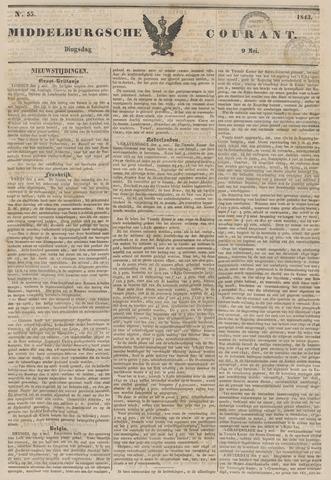 Middelburgsche Courant 1843-05-09