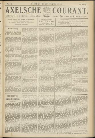 Axelsche Courant 1927-08-30