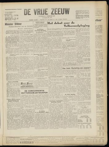de Vrije Zeeuw 1950-02-02
