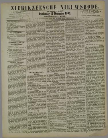Zierikzeesche Nieuwsbode 1893-12-14