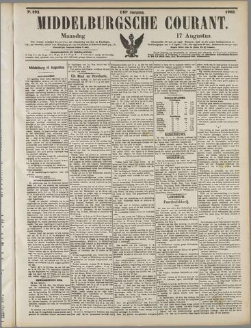 Middelburgsche Courant 1903-08-17