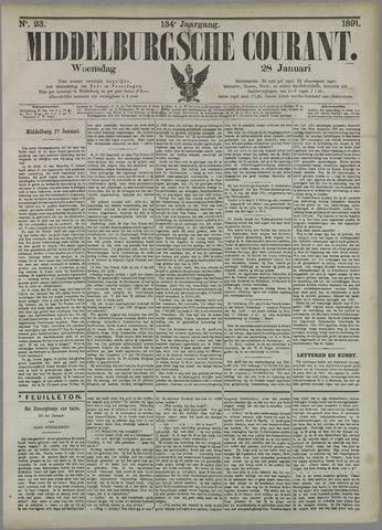 Middelburgsche Courant 1891-01-28