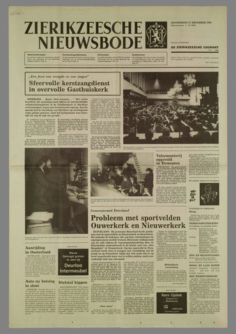 Zierikzeesche Nieuwsbode 1984-12-27