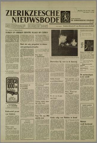 Zierikzeesche Nieuwsbode 1963-12-23