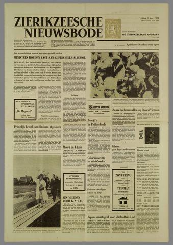Zierikzeesche Nieuwsbode 1972-06-09