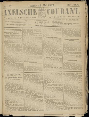 Axelsche Courant 1922-05-12
