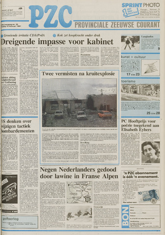 Provinciale Zeeuwse Courant 1991-02-15