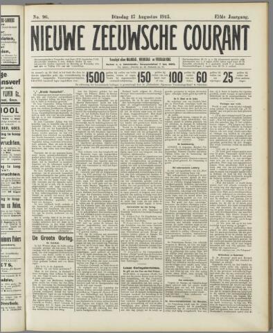 Nieuwe Zeeuwsche Courant 1915-08-17