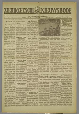 Zierikzeesche Nieuwsbode 1952-07-30