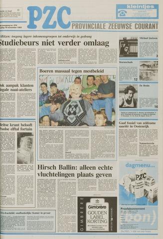 Provinciale Zeeuwse Courant 1993-11-16