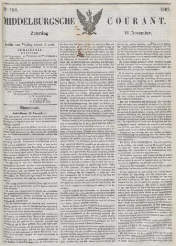 Middelburgsche Courant 1867-11-16