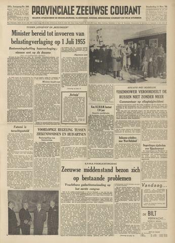 Provinciale Zeeuwse Courant 1954-11-11