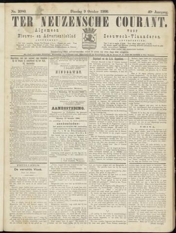 Ter Neuzensche Courant. Algemeen Nieuws- en Advertentieblad voor Zeeuwsch-Vlaanderen / Neuzensche Courant ... (idem) / (Algemeen) nieuws en advertentieblad voor Zeeuwsch-Vlaanderen 1900-10-09