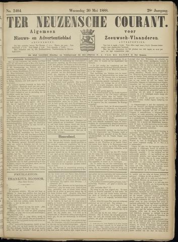 Ter Neuzensche Courant. Algemeen Nieuws- en Advertentieblad voor Zeeuwsch-Vlaanderen / Neuzensche Courant ... (idem) / (Algemeen) nieuws en advertentieblad voor Zeeuwsch-Vlaanderen 1888-05-30