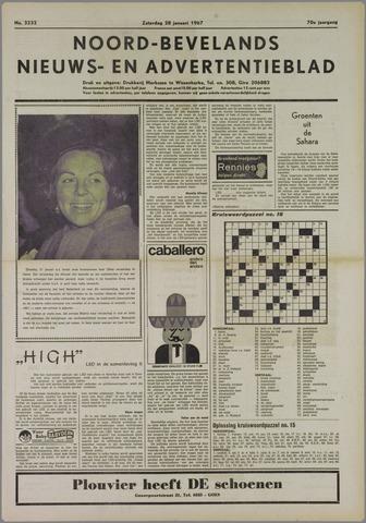 Noord-Bevelands Nieuws- en advertentieblad 1967-01-28