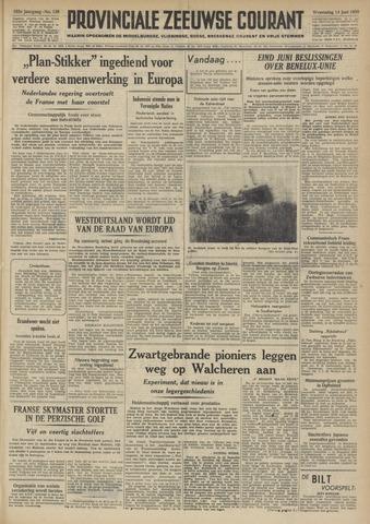 Provinciale Zeeuwse Courant 1950-06-14